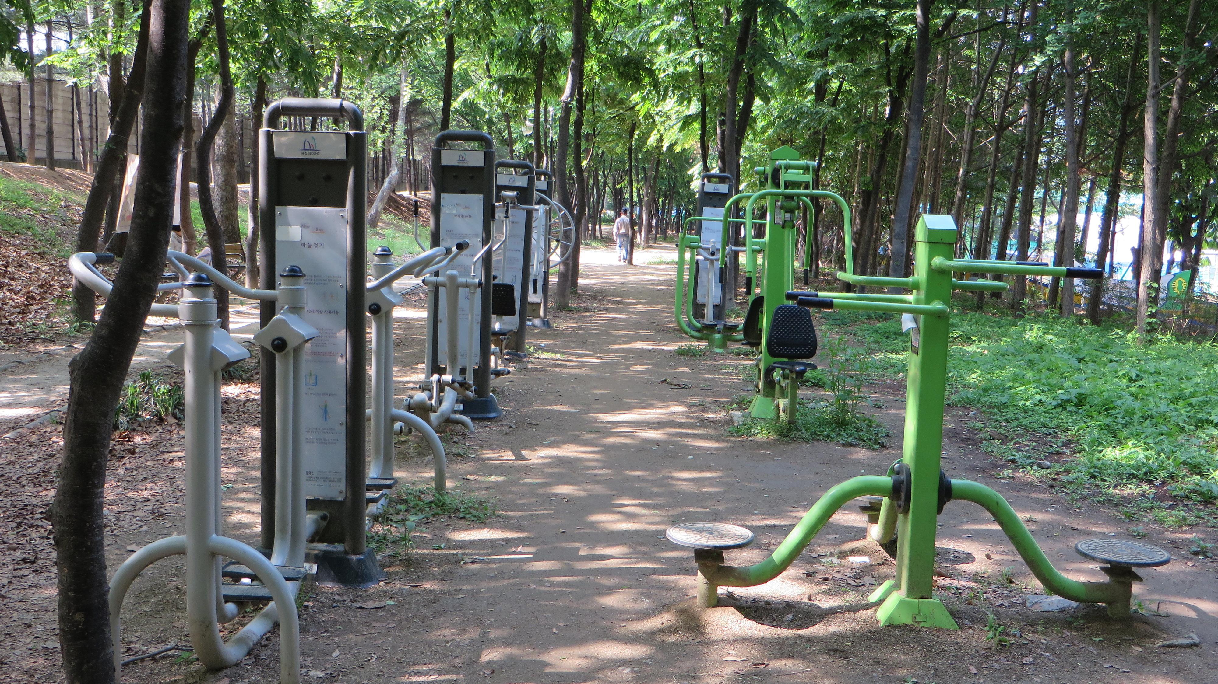 Image result for Korean Exercise Park